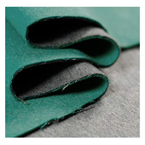 Modestoff Stoff Stoff Einfarbig Doppelseitiger Wollstoff Winter Damenmantel Mantel Stoff 150 cm Breit NIU
