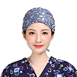TENDYCOCO Fascia regolabile in cotone per Skull Cap regolabile per uomo donna, taglia unic...