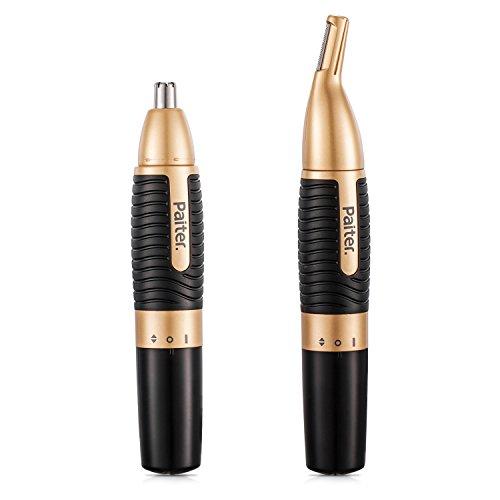 bon comparatif Newstech Tondeuse nez électrique avec piles AA pour sourcils (2 en 1), noir un avis de 2021