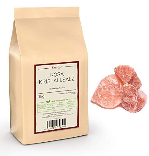 1kg Rosa Kristallsalz grob – Steinsalz-Brocken ohne Zusätze
