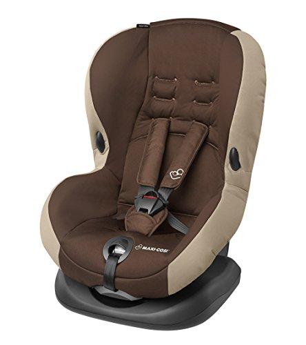 Maxi-Cosi Priori SPS Plus Kindersitz mit Becherhalter - optimalen Seitenaufprallschutz und 4 Sitz- und Ruhepositionen, Gruppe 1 (9-18 kg), nutzbar ab 9 Monate bis 4 Jahre, oak brown