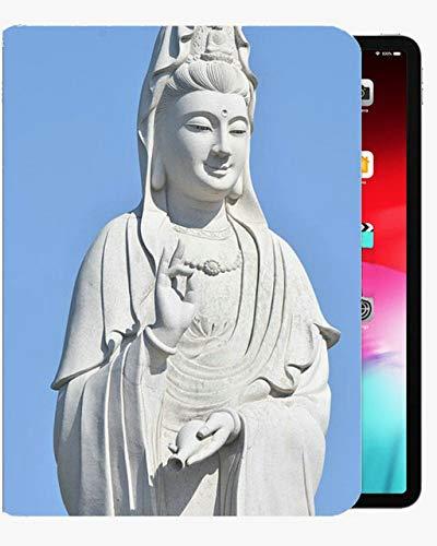 para la Cubierta de la Caja de 10,5 Pulgadas de iPad Pro, el Papel de la Juventud y el Papel Blanco, Tome Cualquier Cubierta de Concha Delgada de la Funda de impresión de Buda para iPad iPad Pro