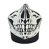 Bandero - Máscara para ciclista, diseño de calavera