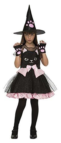 Desconocido My Other Me-204020 Disfraz de bruja gatito para niña, 10-12 años (Viving Costumes 204020)