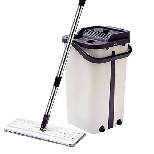 Fregona de polvo de limpieza de piso fregona fregona fregona fregona de limpieza de cubo juegos de herramientas hogar hogar rotación piso limpieza con cabezales de repuesto