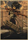 Aishangjia Dibujos Animados clásicos Dibujos Animados Conquers Titan Serie de...