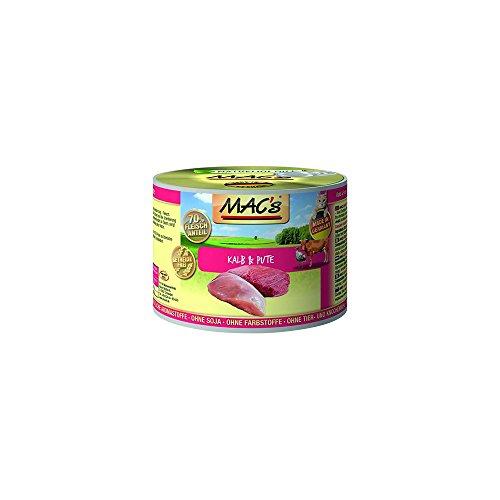 Mac's Katzenfutter getreidefrei Kalb & Pute, 200 g