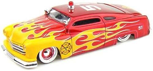 1951 Lincoln Mercury Highway Patrol in 1 24 Jada Toys 92454