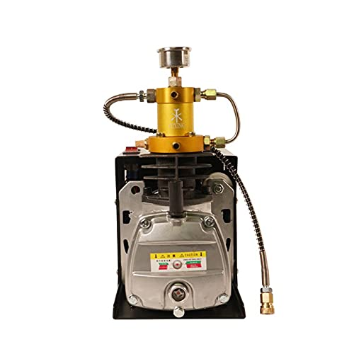 TUXING 4500Psi Pcp Compressor Electric Air Compressor 300Bar High Pressure Pump for Air Rifles Paintball Scuba Tank 110V
