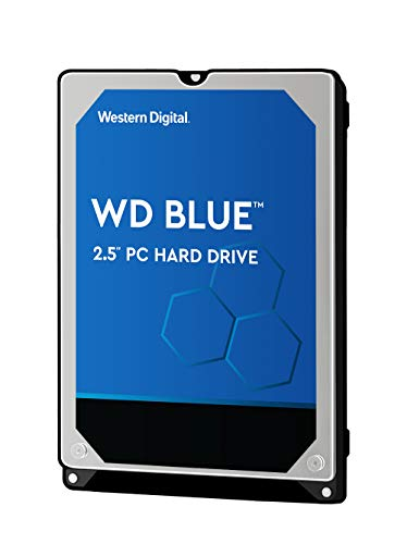 WD Blue Disco duro móvil interno de 500 GB (6 mm de altura 5400...