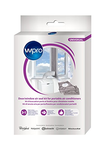 Wpro - Kit Chiusura Ermetica Per Climatizzatori Mobili, CAK002