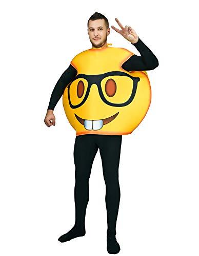 PARTY FIESTA Disfraz Emoticono Gafas