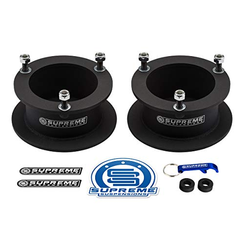 """Supreme Suspensions - 3"""" Front Leveling Kit for 1994-2013 Dodge Ram 2500 3500 and 1994-2001 Dodge Ram 1500 High-Strength Steel Spring Spacers Lift Kit 4WD"""