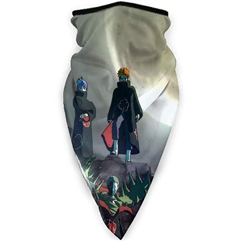 Rincvo Naruto - Braga para el cuello y la cabeza, resistente al viento, para disfraz de Halloween