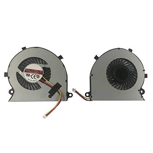 Todiys CPU Fan for Toshiba Satellite Radius P55W-B Series BAAA0705R5H P55W-B5112 P55W-B5162SM P55W-B5181SM P55W-B5201SL P55W-B5220 P55W-B5224 P55W-B5260SM P55W-B5318 P55W-B5380SM