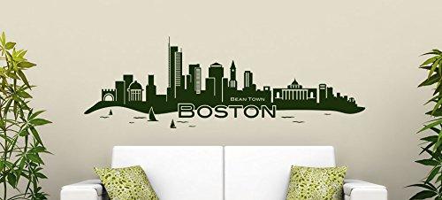 boston skyline decal - 3
