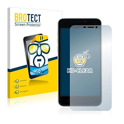 BROTECT Schutzfolie kompatibel mit Oukitel U20 Plus (2 Stück) klare Bildschirmschutz-Folie