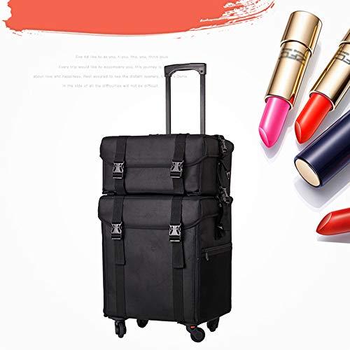 HZXLL Beauty koffer transport bagage/trolley koffer beneden de trap make-up case beauty case nagellak sieraden display dozen