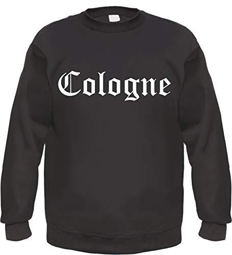 Cologne Sweatshirt - Altdeutsch - Bedruckt - Pullover S Schwarz