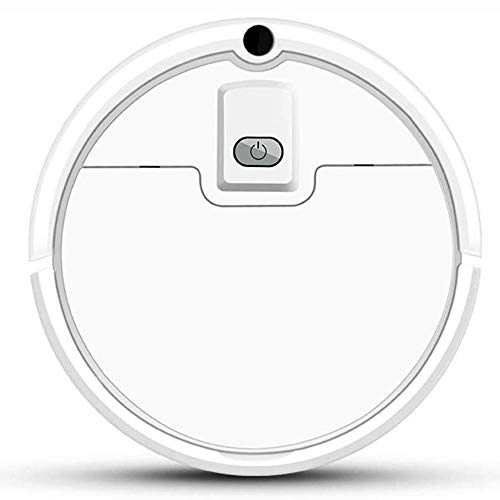 Barir Aspiradora Robot, Robot Aspirador, 5 Modos de Limpieza, Fácil Programa de Limpieza, y la Auto-Carga, Conveniente for el Mejor for el Pelo del Animal doméstico, Pisos Duros y Mediana Alfombra