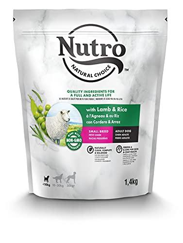 NUTRO Natural Choice Perro Adulto Razas PEQUEÑAS, Cordero ✅