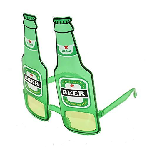 Zoylink Party Brillen Kostüm Gläser Kreative Weinflasche Party Gläser