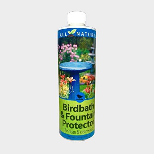 Birdbath & Fountain Protector 95566, 16 oz. for Clean and Clear Water