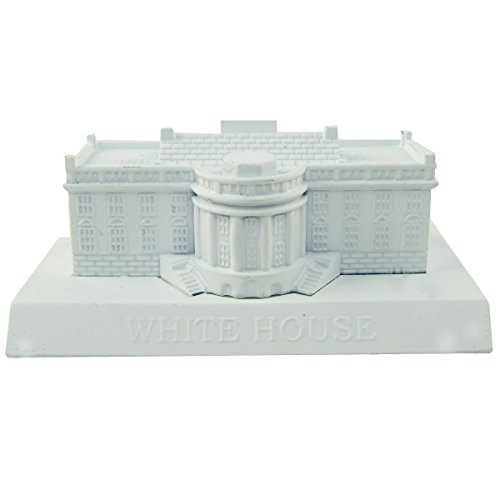 TG,LLC Treasure Gurus US White House Souvenir Metal Building Replica Die Cast Novelty Pencil Sharpener
