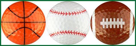 EnjoyLife Inc Sport Ball Variety I Golf Ball Gift Set