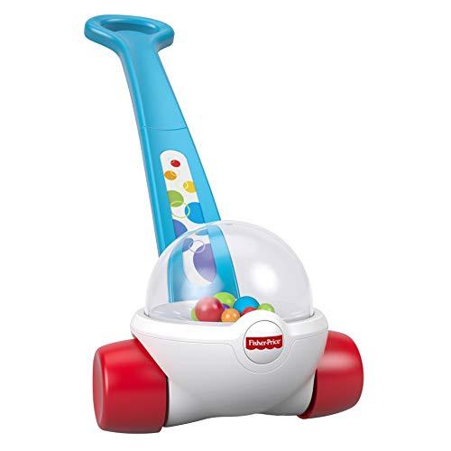 Fisher-Price FGY72 - Laufspaß Kugelroller Baby Lauflernhilfe mit bunten Kugeln, Lauflernwagen und Babyspielzeug ab 1 Jahr