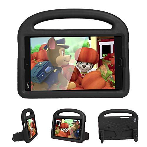 FANSONG Funda para Huawei MatePad T8 de 8 Pulgadas 2020 Release Tablet (KOB2-L09 KOB2-L03), a prueba de golpes para niños, funda protectora ligera y resistente a los golpes Huawei MatePad T8 (negro)