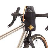 Restrap Stem Bag sacoche de Potence étanche Porte bidon Bouteille Rangement Accesorios para Equipaje de Bicicleta, Unisex Adulto, Negro