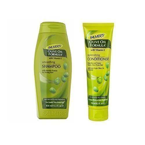 Palmers Huile d'Olive Formule Shampooing Lissant et Instant Conditioner