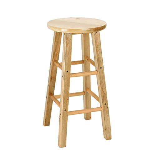 BLWX - Tabouret haut - Home Tabouret haut Tabouret en chêne Chaise de bar 35/40/45/50/60/70 / 80cm - Chaise en bois Échelle (taille : 30X60cm)