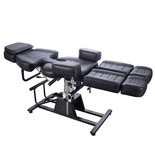 FJLOVE Fauteuil De Massage Hydraulique Split Table du Massage Réglable Lit du Massage Electrique en...