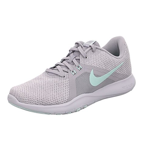 Nike Women's Flex Trainer 8 Cross, Wolf Grey/Igloo/White/Pure Platinum, 9 Regular US