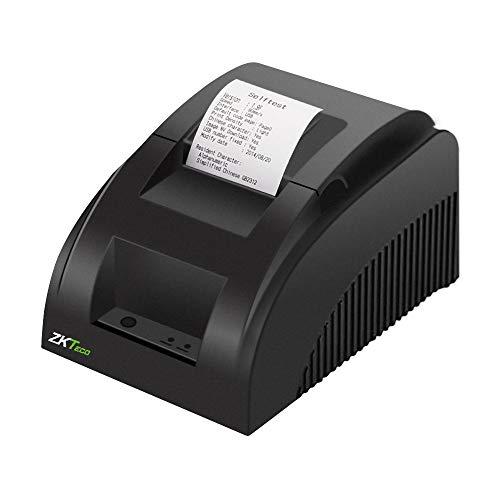 ZKTeco Impresora Térmica de Recibos y Tickets de 58mm ZKP5801 con Auto-Cortador Compatible con...