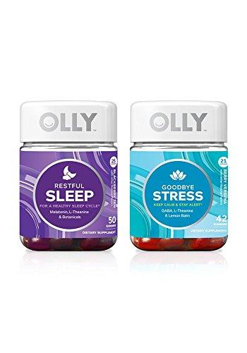 Olly Nutrition Vitamin Gummy Zen Attitude Two Pack Goodbye Stress