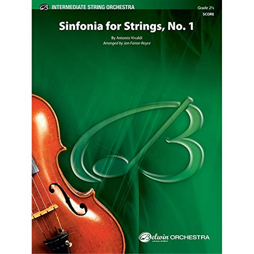 Sinfonia para Cuerdas, Nº 1