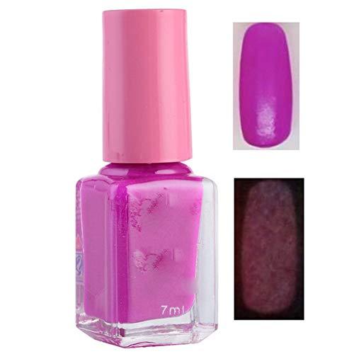 Candy Nail Art Leuchtfarbe Nagellack Neon Nagellack Leuchtender fluoreszierender Nagellack leuchtet...
