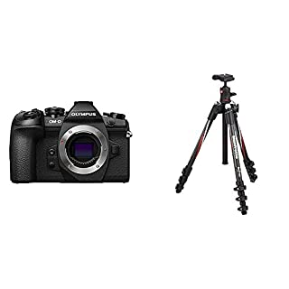 Olympus OM-D E-M1 Mark II Compact System Camera with Manfrotto Befree Carbon Fibre Travel Tripod with Ball Head- Black (B078HJ7553) | Amazon price tracker / tracking, Amazon price history charts, Amazon price watches, Amazon price drop alerts