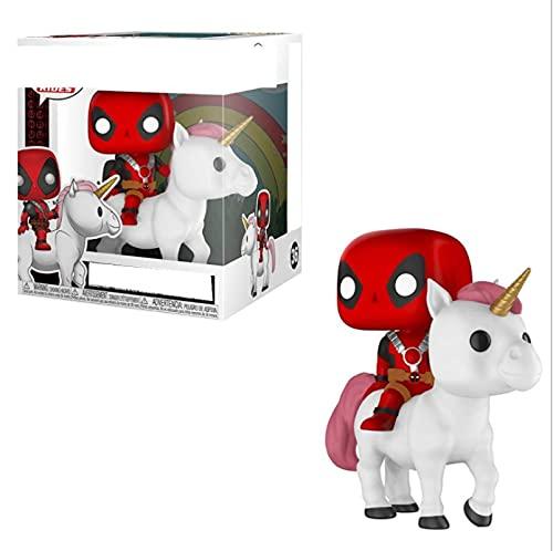 Pop Marvel Bedtime Deadpool On Unicorn 36 # Figura De Vinilo Figuras De Acción Colección Modelo Juguetes Regalo