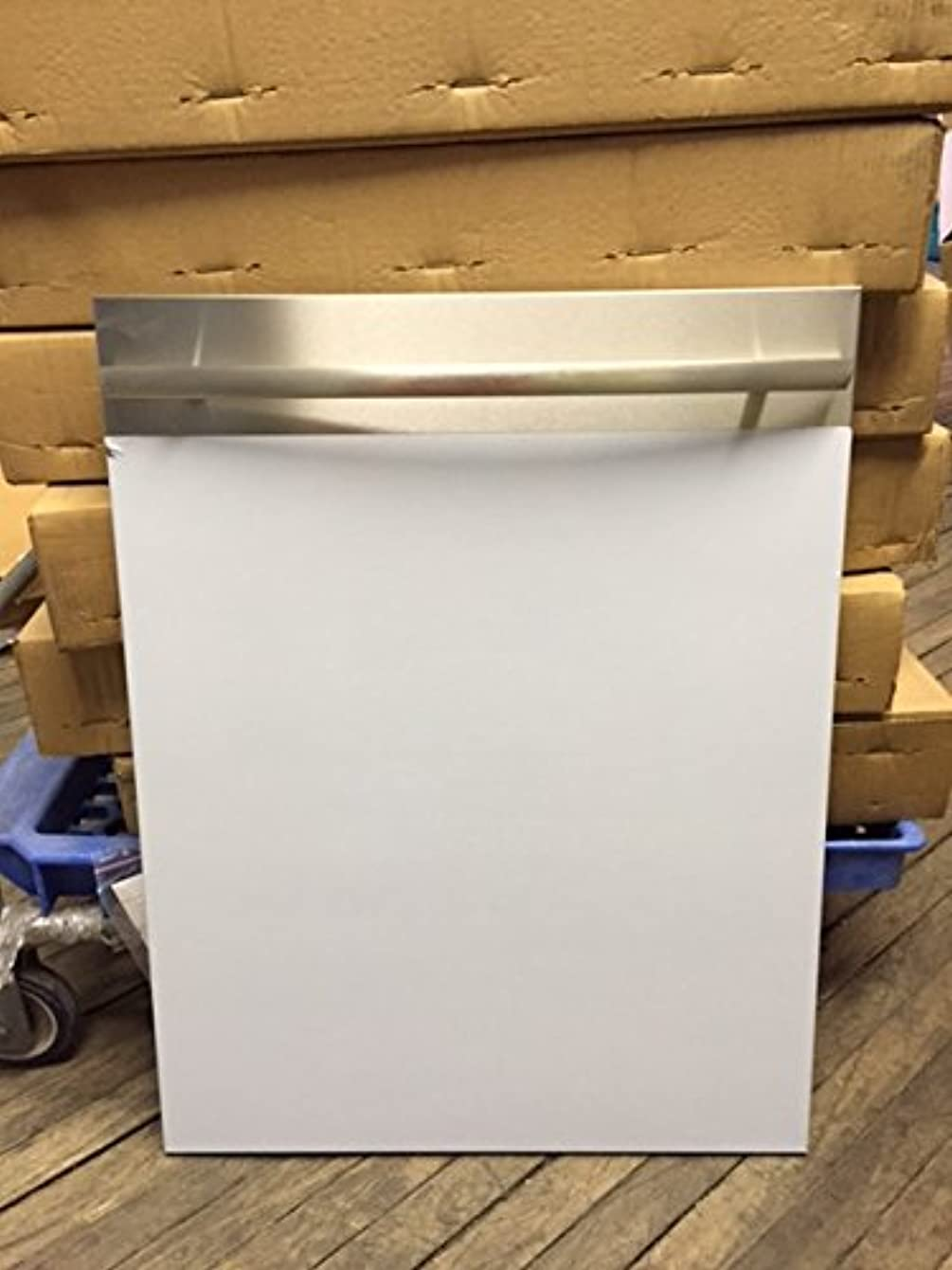Asko 8075367-91 Stainless steel Door for Dishwasher- Curved Handle