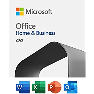 Microsoft Office Home & Business 2021   One-time purchase for 1 PC or Mac   Download