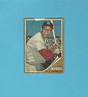 1962 stan musial baseball card