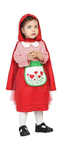 Atosa 24412 - Cappuccetto Rosso Toddler Costume 12-24 Mesi