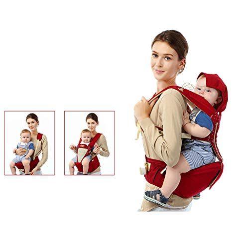 Bandoulière Taille bébé Banc d'absorption de Chocs détachable Multifonction Convient Quatre Saisons universelles ( Color : A )