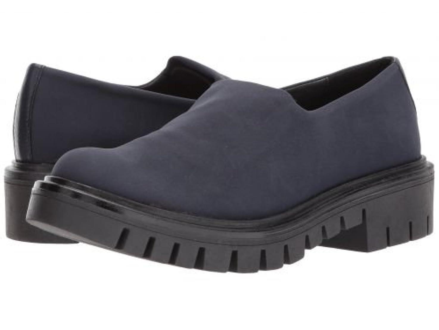 受信ふけるサスペンションShellys London(シェリーズロンドン) レディース 女性用 シューズ 靴 ローファー ボートシューズ Karen - Navy 38 (US Women's 7.5) M [並行輸入品]