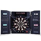 KATUEF High-end Electronic Dart Board, Box-Type Dart Target, Automatic Scoring Soft Dart, 4 LED...