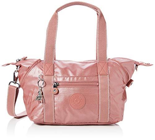 Kipling Damen ART MINI Taschen mit Tragegriff, Rot (Metallic Rust), Einheitsgröße